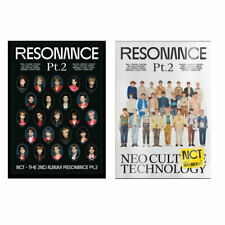NCT THE 2ND ALBUM RESONANCE PT.2 DEPARTURE / ARRIVAL all package dhl shipping