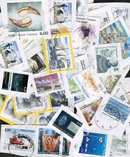Greenland recent KILOWARE #6 - 110 stamps - L@@K!!!