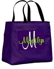 5 Personalized Tote Bag Monogram Bridesmaid Gift Wedding Teacher FRIEND SHOWER