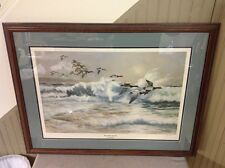 FREE SHIPPING!! Larry Toschik (1922-) Hand Signed Numbered Framed Lithograph