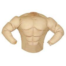 Super Muscle Shirt Costume Small For Super Hero Fancy Dress - Bodybuilder Mens