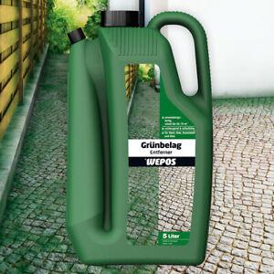 Wepos Grünbelag Entferner 5 Liter anwendungsfertig