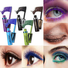 New 5 Color Curling 4D Silk Fiber Waterproof Makeup Thick Eyelash Volume