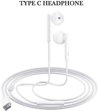 For Samsung Galaxy S21/S20 Fe/Note 20/10 Earphone Headphone Earbuds Usb-C Type C