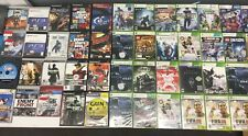Lot of 55 Video Games Untested Sold As Is (PS2, PS3, Xbox 360, Wii U, GameCube)