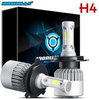 H4 LED Bulb HID White 360°Hi/Low Beam Motorcycle Headlight 6000K High Power