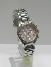 Women's Bulova Geuine Diamond Chronograph Watch