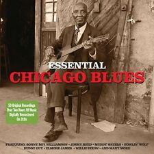 Essential Chicago Blues 2-CD NEW SEALED Howlin' Wolf/Muddy Waters/Bo Diddley+