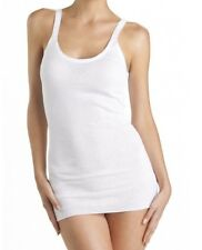 Bonds Women White Tube Singlet 12 14 16 18 20 Light Rib Cotton Thin Strap Vest