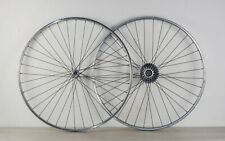Roues chambre à air Rigida Peugeot Atom alu 700C alloy wheels set inner tube