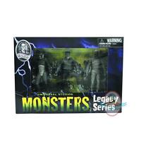 Universal Monsters Series 1 Black & White Set Creature, Wolfman, Mummy