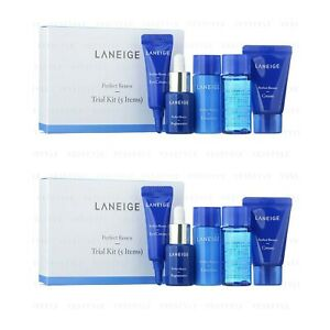 LANEIGE Perfect Renew Trial Kit (5 items)  New Renew Sample size x 2  / 2 Boxes