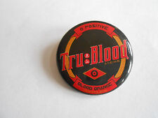 2010 HBO Tru-Blood Blood Orange Carbonated Drink Soda Advertising Pinback Button
