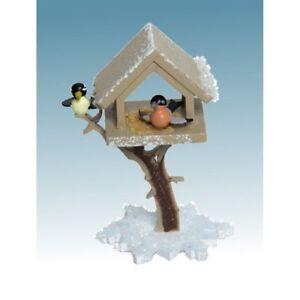 Kuhnert Sammelfigur Schneeflöckchen Zubehör Vogelhaus