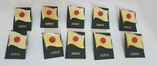 Lot lotto 10 spille pin bandiere nazione flag nation JAPAN GIAPPONE