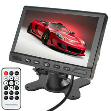 US 7 Inch HD TFT LCD 2-Channel MP5 USB SD Video Audio Input Car Rearview Monitor