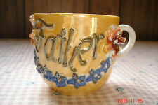 "Vintage Germany Peach Lustre ""FATHER"" Coffee Cup/Mug"