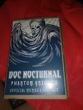 Mezco One:12 Doc Nocturnal Phantom Knights Official Membership Kit Complete