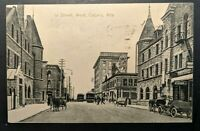 1912 1st St West Calgary Alberta Canada Printed Picture Postcard Cover