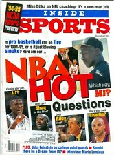 1994 Inside Sports Magazine: Michael Jordan - Chicago Bulls - NBA Hot Questions