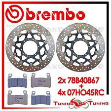 Dischi Freno Anteriore BREMBO+Pastiglie BREMBO RC HONDA CBR 600 RR 2003 2004 04