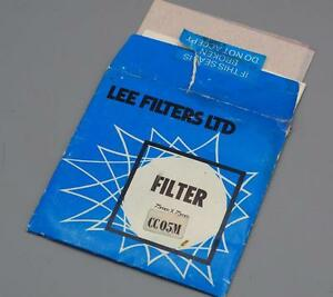 Lee CC05M 75mm X 75mm Color Control Polyester Filter