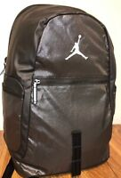 NIKE AIR JORDAN JUMPMAN RETRO LAPTOP BACKPACK METALLIC BLACK ANTHRACITE  9A1810