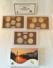 2013 US MINT PROOF SET 14 COINS WITH BOX & COA  FREE SHIPPING!