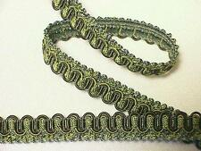 "10 Yards of Decorative 1/2"" Scroll Style Braid Gimp Trim ~ CHOICE of COLORS"