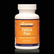 Microbe Tudca Plus supports liver,digestive and mitochondrial health.60 capsules