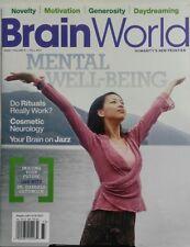 Brain World Fall 2017 Mental Well Being Motivation Generosity FREE SHIPPING sb