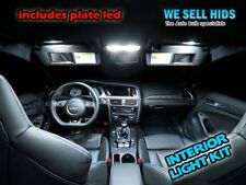 Audi A4 B8 A5 Interior LED Bulbs Kit XENON WHITE INTERIOR LIGHTS BULBS KIT 16pc