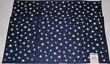 """Patriotic Quilted Placemat's  STARS AND STRIPES  13"""" X 19"""" Reversible"""
