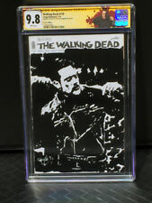 THE WALKING DEAD NEGAN 9.8 SKETCH COVER Chris McJunkin CGC SIGNATURE SERIES SS
