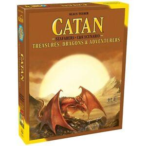 Catan Scenario Treasures Dragons & Adventures Expansion Settlers CN3174 Studios