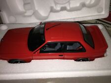 70566 AUTOART 1:18 BMW M3 E30 RED NEW  VERY RARE  FREE SHIPPING WORLDWIDE