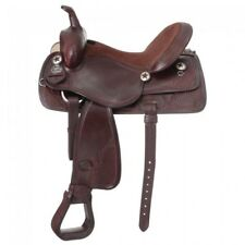 """King Series Trail and All Around Saddle - Dark Oil - 16"""" -  NWOT -"""
