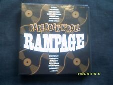 RARE ROCK N ROLL RAMPAGE 4 CD BOXSET-FREDDIE BELL,EDDIE FONTAINE