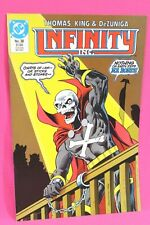 Infinity Inc #38 Roy Thomas Mr Bones 1987 DC Comic Comics F-/F
