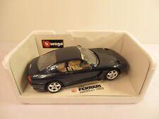 Bburago 1992 Ferrari 456 GT Coupe dark blue 1/18 Cod 3036 Diecast Italy Rare