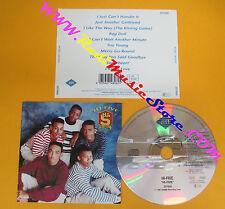 CD HI-FIVE Omonimo Same 1990 Germany ZOMBA ZD74826  no lp mc dvd vhs (CS6)
