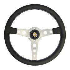 Momo Prototipo Silver Steering Wheel 350mm Leather