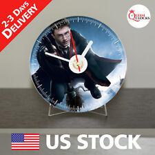 NEW Harry Potter CD Clock - Unique Decor Idea for Home USA