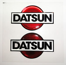 Vintage 80's 90's Automotive Fender Dash Quarter Accent Trim DATSUN