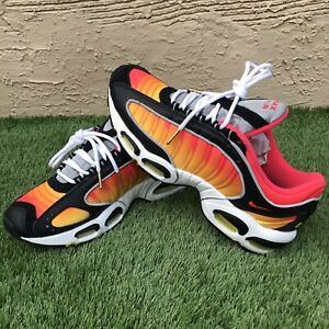 Nike Air Max Tailwind 4 Sunset Black/Red CN9658-001 Men's Shoes Size 10