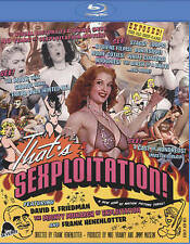 That's Sexploitation!  BLU-RAY DISC 2016 REGION FREE!BRAND NEW! SEALED!