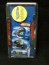 Hot Wheels License Plate Frame and Pair of Die Cast Cars #3