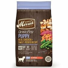 Merrick Grain Free Puppy Real Chicken & Sweet Potato Dry Dog Food 4 lbs.