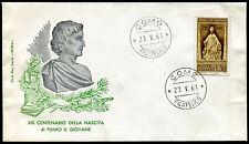 1961 - Plinio il Giovane - Sassone n. 922  - Busta F.D.C.