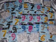 40 Foil Helium Balloons Numbers Letters Ideal For Balloon Decorator Joblot